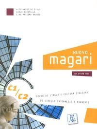 Alessandro De Giuli et Carlo Guastalla - Nuovo Magari C1/C2 - Corso di lingua e cultura italiana di livello intermedio e avanzato. 2 CD audio