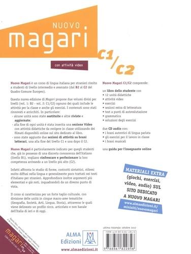 Nuovo Magari C1/C2. Corso di lingua e cultura italiana di livello intermedio e avanzato  avec 2 CD audio