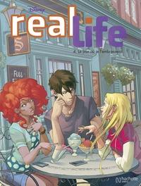 Alessandro Ferrari et Silvia Gianatti - Real Life Tome 4 : Le jour où je l'embrasserai.