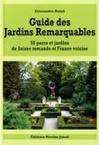 Alessandro Natali - Guide des Jardins remarquables - 55 parcs et jardins de Suisse romande et France voisine.