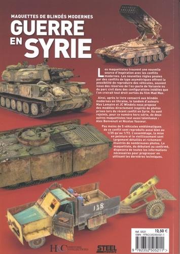 Guerre en Syrie. Maquettes de blindés modernes