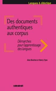 Des documents authentiques aux corpus- Démarches pour l'apprentissage des langues - Alex Boulton | Showmesound.org
