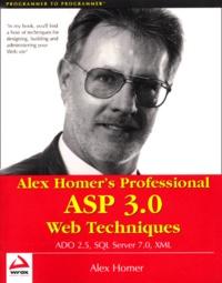 Alex Homer - .