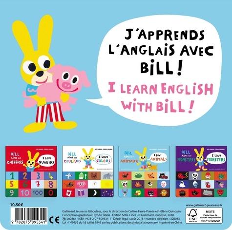 Bill aime les couleurs