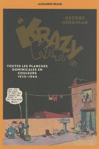 Alexander Braun - George Herriman, Krazy Kat - Toutes les planches dominicales en couleurs (1935-1944).