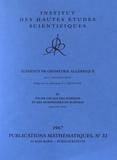 Alexander Grothendieck - Eléments de géométrie algébrique - Volume 4, Etude locale des schémas et des morphismes de schémas (quatrième partie).