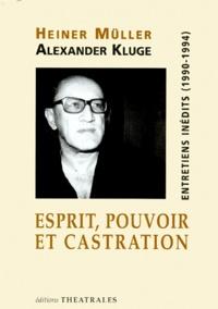 Alexander Kluge et Heiner Müller - .