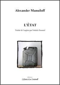 Alexander Manuiloff - L'Etat.