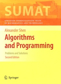 Alexander Shen - Algorithms and Programming - Problems and Solutions.
