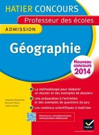 Alexandra Baudinault et Bertrand Pleven - Concours Professeur des Ecoles 2014 - Géographie - Epreuve orale d'admission.