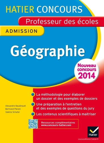 Concours Professeur des Ecoles 2014 - Géographie. Epreuve orale d'admission
