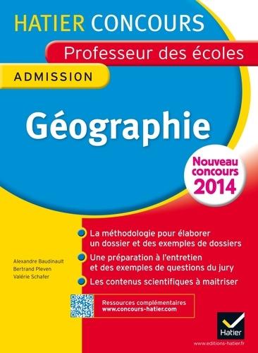 Concours professeur des écoles 2015 - Géographie - Epreuve orale d'admission