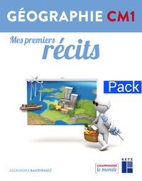 Alexandra Baudinault - Géographie CM1 Mes premiers récits - Pack de 6.