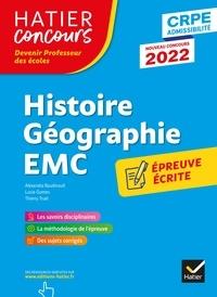 Alexandra Baudinault et Lucie Gomes - Histoire-Géographie-EMC- CRPE 2022 - Epreuve écrite d'admissibilité.