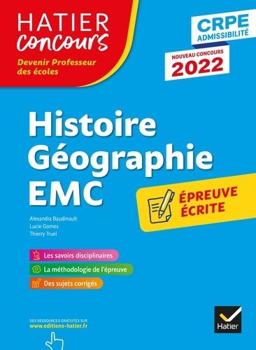 Alexandra Baudinault et Lucie Gomes - Histoire - Géographie - Enseignement moral et civique - Epreuve écrite d'application CRPE.