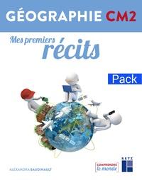 Alexandra Baudinault - Mes premiers récits géographie CM2 - Pack de 6.