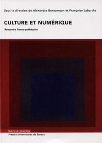 Alexandra Bensamoun et Françoise Labarthe - Culture et numérique - Rencontre franco-québécoise.