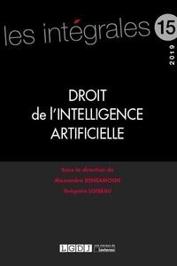 Droit de l'intelligence artificielle - Alexandra Bensamoun pdf epub