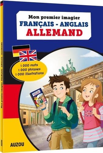 Mon premier imagier Français-Anglais-Allemand