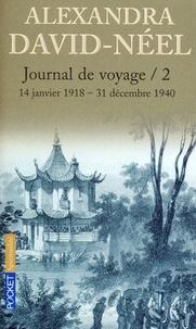 Alexandra David-Néel - Journal de voyage - Tome 2, Lettres à son mari (14 janvier 1918-31 décembre 1940).