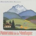 Alexandra Exter et Marie Colmont - Panorama de la montagne.