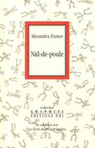 Alexandra Fixmer - Nid-de-poule.
