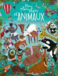 Alexandra Garibal et Claudia Bielinsky - Plein plein plein d'animaux - Un imagier giga extra d'animaux dans tous leurs états.