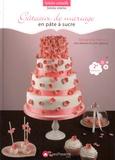 Alexandra Hémon - Gâteaux de mariage en pâte à sucre.