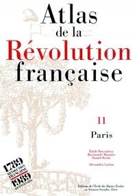 Alexandra Laclau et Gérard Béaur - Atlas de la Révolution française - Tome 10, Economie.