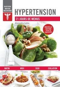Alexandra Leduc - Hypertension - 21 jours de menus.