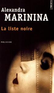 Alexandra Marinina - La liste noire.