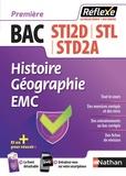 Alexandra Monot et Roland Tissot - Histoire Géographie 1re Bac STI2D-STL-STD2A.