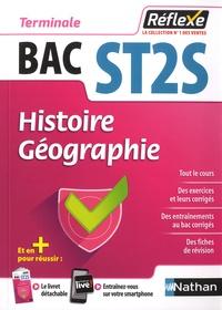 Alexandra Monot et Jean-Louis Carnat - Histoire Géographie Tle Bac ST2S.