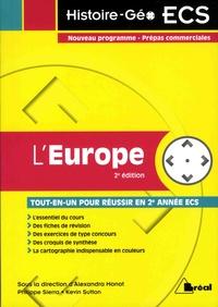 Alexandra Monot et Philippe Sierra - L'Europe.
