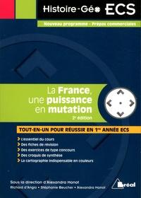 Alexandra Monot et Richard d' Angio - La France, une puissance en mutation.