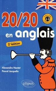 Alexandra Nantet et Pascal Jacquelin - 20/20 en anglais.
