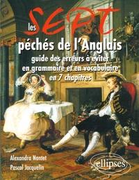 Alexandra Nantet et Pascal Jacquelin - Les 7 péchés de l'anglais.