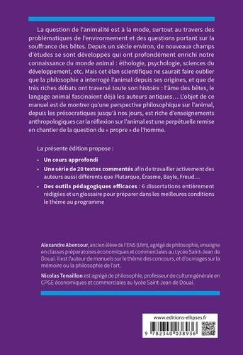 L'animal. Thème de culture générale Prépas commerciales ECS/ECE  Edition 2021