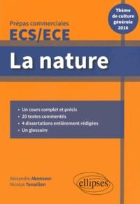 Era-circus.be La nature, Prépas commerciales ECS/ECE - Thème de culture générale 2016 Image