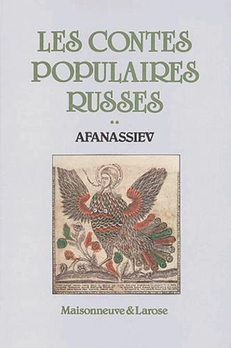 Alexandre Afanassiev - Les contes populaires russes - Tome 2.