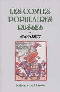Alexandre Afanassiev - Les contes populaires russes - Tome 3.