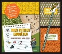 Alexandre Arlène et Loïc Méhée - Coffret mes petites enquêtes - 40 labyrinthes et casse-têtes ! Avec 1 livre de jeux, 1 cahier de dessin, 2 carnets, 1 crayon, 1 gomme.
