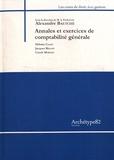 Alexandre Baetche - Annales et exercices de comptabilité générale.