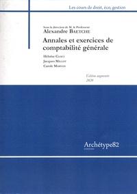 Alexandre Baetche et Héloïse Cloet - Annales et exercices de comptabilité générale.