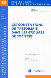 Alexandre Bienvenu - Les conventions de trésorerie dans les groupes de sociétés.