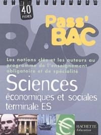 Alexandre Blin - Sciences économiques et sociales Tle ES.