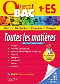 Alexandre Blin et Louis-Marie Couteleau - Toutes les matières 1e ES.