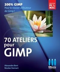 Alexandre Boni - 70 ateliers pour Gimp.