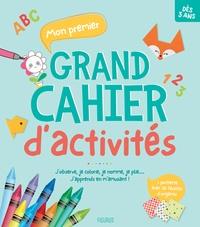 Alexandre Bonnefoy et Dorothée Jost - Mon premier grand cahier d'activités - J'observe, je colorie, je nomme, je plie... J'apprends en m'amusant !.