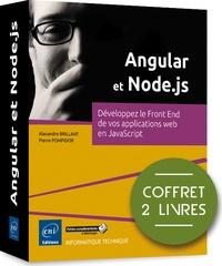 Les meilleurs livres audio Angular et Node.js  - Coffret en 2 volumes : Développez le Front End de vos applications web en JavaScript 9782409023439